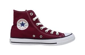 Details about CONVERSE Chuck Taylor All Star Hi Top Marron Red Lace Up Sneakers Men Shoes
