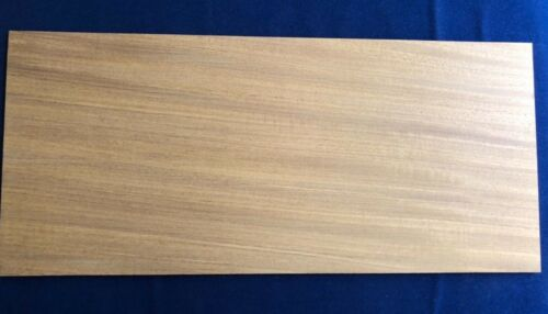6mm or 8mm 4mm 1 × Solid Afromosia Wood Sheets 3mm