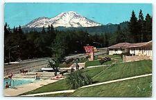 Postcard CA Dunsmuir Oak-Lo Motel
