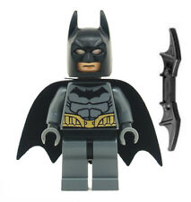 NEW LEGO BATMAN MINIFIG dark gray figure minifigure 76012 riddler chase bat man