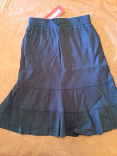 5 or 7 NWT Gymboree Beach Shack Blue Tiered Cotton Skirt Sz 4