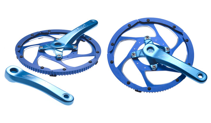 STRiDA genuine alloy chain wheel  and crankset (anodised blueee)  choose your favorite