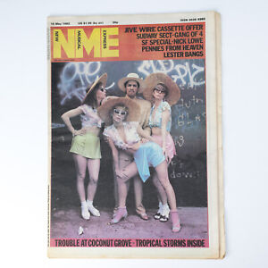 NME magazine 15 May 1982 Kid Creole & The Coconuts cover Nick Lowe Lester Bangs