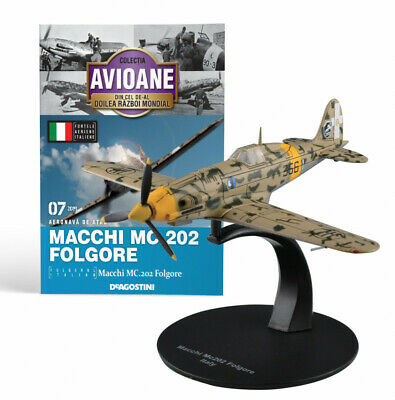 DeAgostini 1:72 Macchi MC202 Folgore Modèle Avion