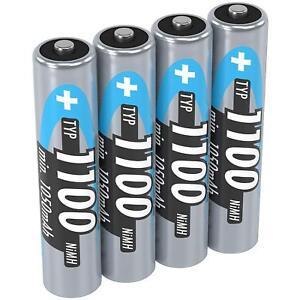 Leistungsstarke Nimh Aaa Akkus Für Ge Haushaltsbatterien & Strom Trendmarkierung Ansmann Micro Aaa Akku 1,2v Typ 1100mah Tv, Video & Audio