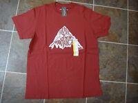 Eddie Bauer Men's Outdoor Graphic Tee T-shirt Flag Red Sz M, L, Xl, Xxl