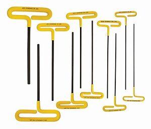 "Bondhus 46409 5//32/"" Hex Tip Cushion Grip Loop T-Handle 2 Piece 6.7/"""
