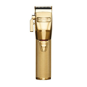 BaBylissPro-Rechargeable-Hair-Clipper-with-Taper-Control-Gold-10-Pieces-FX870