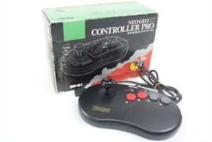 NEO-GEO-Fighting-Stick-Controller-Pro-Boxed-Tested-Ref-2201-JAPAN-Game