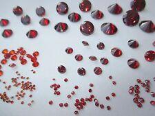 1 CZ Stern 6,0 mm rosa Facetten-Schliff synthetischer  Edelstein Cubic Zirkonia