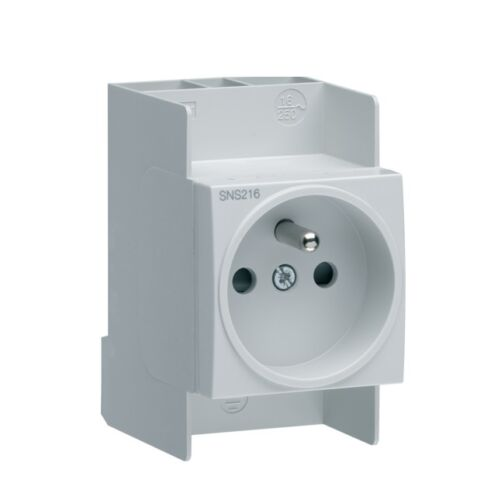 1 X prise modulaire HAGER SNS216  NEUVE sans emballage