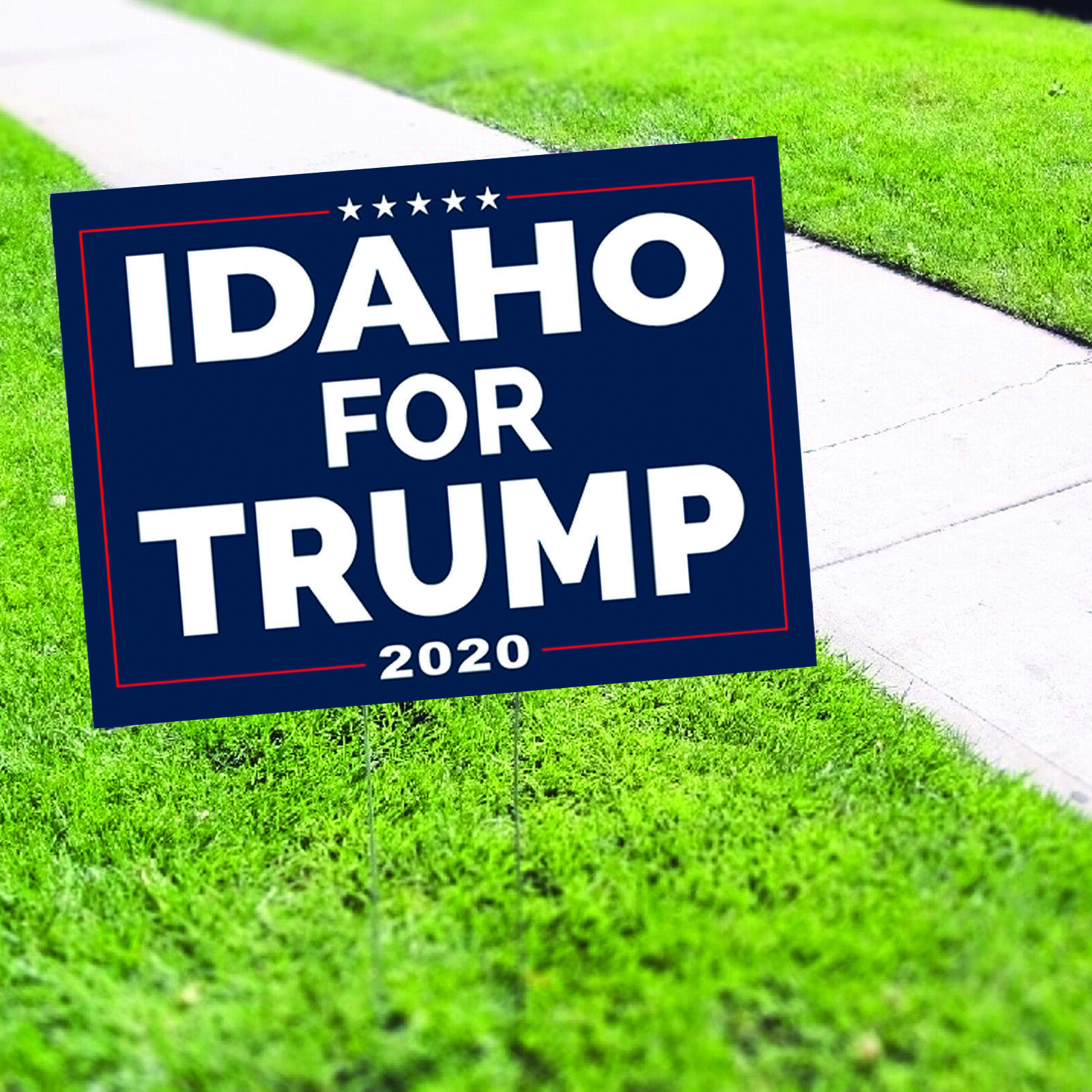 Idaho For Trump 2020 Vote for Trump USA President Election Yard Sign