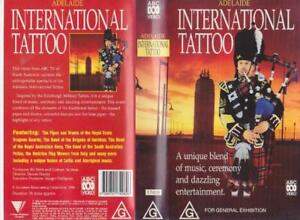 ADELAIDE-INTERNATIONAL-TATTOO-VHS-PAL-VIDEO-A-RARE-FIND