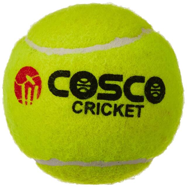 Cosco Light Weight Cricket Ball Pack of 6 Yellow Best Qualitiy Fast Delivery KU