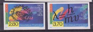 N-2878-2879-EUROPA-1994-cote-Yvert-amp-Tellier-85-non-dentele-neuf