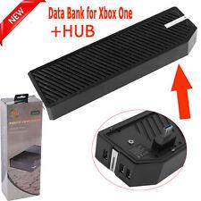 "2.5""External Hard Drive Enclosure Case USB 3.0 Media Hub Fr Microsoft Xbox One G"