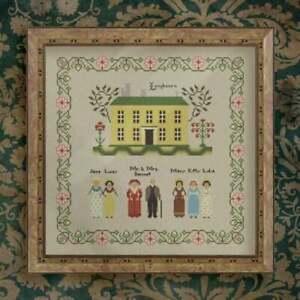 Cross-Stitch-Pattern-034-Pride-and-Prejudice-Longbourn-034-Sampler-by-OwlForest