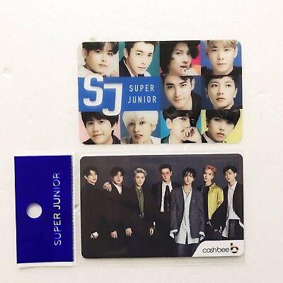SM Town Super Junior x 7-Eleven Collaboration SM Artist Cashbee Card (Group)