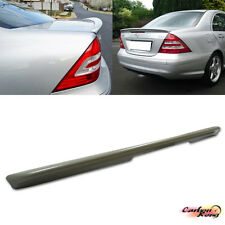 #ITEM IN LA# Mercedes BENZ W203 C-Class C320 C350 A Type Trunk Spoiler ABS Sedan