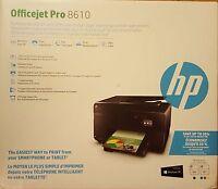 Brand New HP Officejet Pro 8610 Wireless e-All-in-One Inkjet Printer Replac 8600