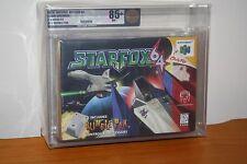 Star Fox 64 w/Rumble Pak (Nintendo 64 N64) NEW SEALED V-SEAM MINT GOLD VGA 85+!