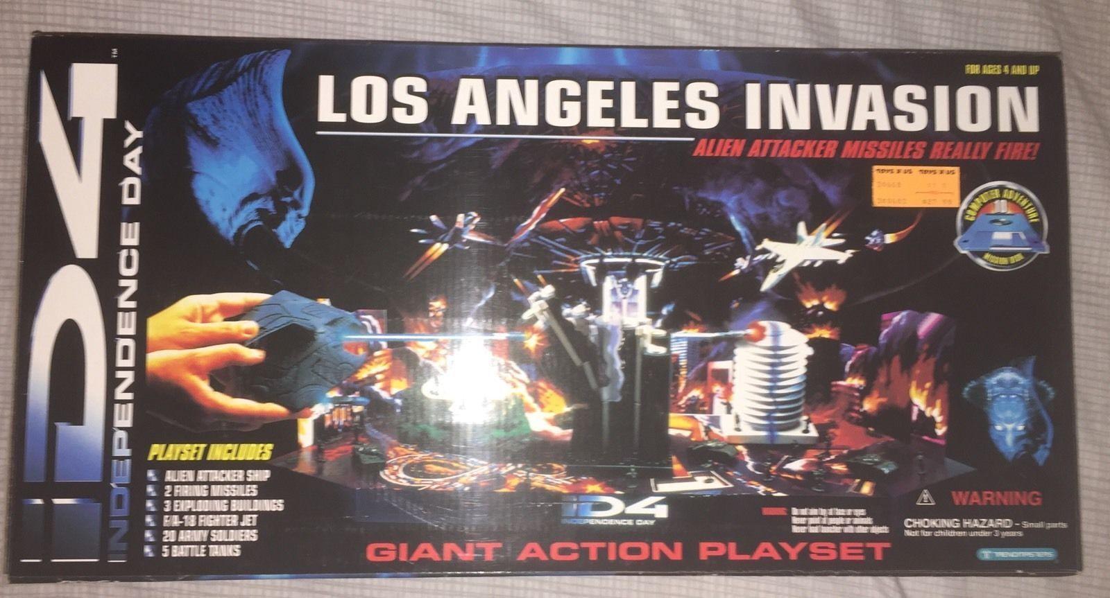 ID4 Los Angeles Invasion Playset Playset Playset Huge  HTF nuovo Sealed 151a47