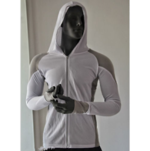 Men-039-s-Fishing-Shirt-Long-Sleeve-Hooded-Sun-Shirt-Breathable-Sunscreen-Anti-UV