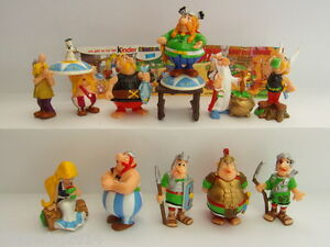Kinder Surprise ASTERIX Complete Collectible Figures Sets Figurines Miniatures