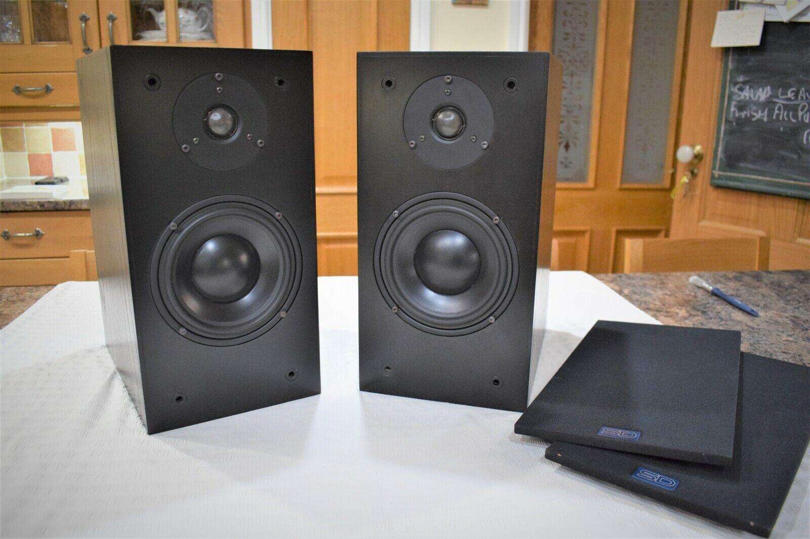 SD ACOUSTICS SD3 MK 2 SPEAKERS - AUDIOPHILE DYNAUDIO