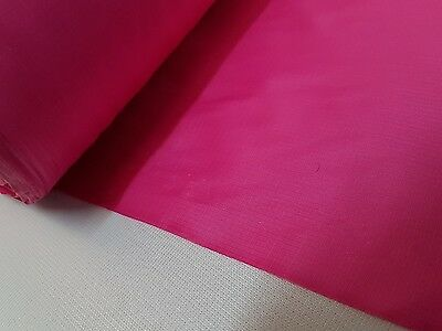 Nylon 10 mètres-Rose-Étanche Ripstop Tissu Chiffon 60gsm*//largeur 160 cm