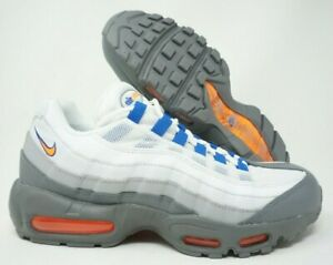 Nike-Air-Max-95-Essentials-NY-Mets-Mens-Blue-Orange-Gray-749766-033-Size-10-5