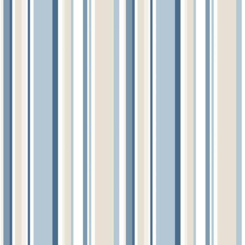 SY33963-simplement rayures 3 Random Rayures Bleu Marine Beige Galerie Papier Peint