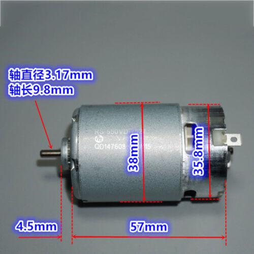 MABUCHI RS-550VD-7527 DC 6V-12V 17200RPM High Speed Electric Drill Tools Motor