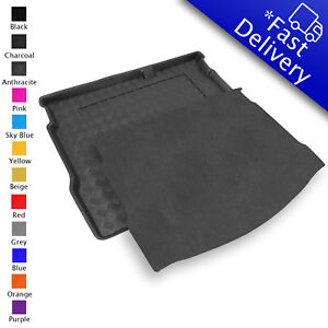 carmats4u Tailored Boot Liner//Tray//Mat for Santa Fe 5 seats 2006-2012 /& Removable Anti-Slip Grey Carpet Insert