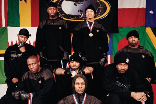 N-1076 The Wu-Tang Clan RZA Hip Hop Group Music1 Fabric POSTER 20x30 24x36