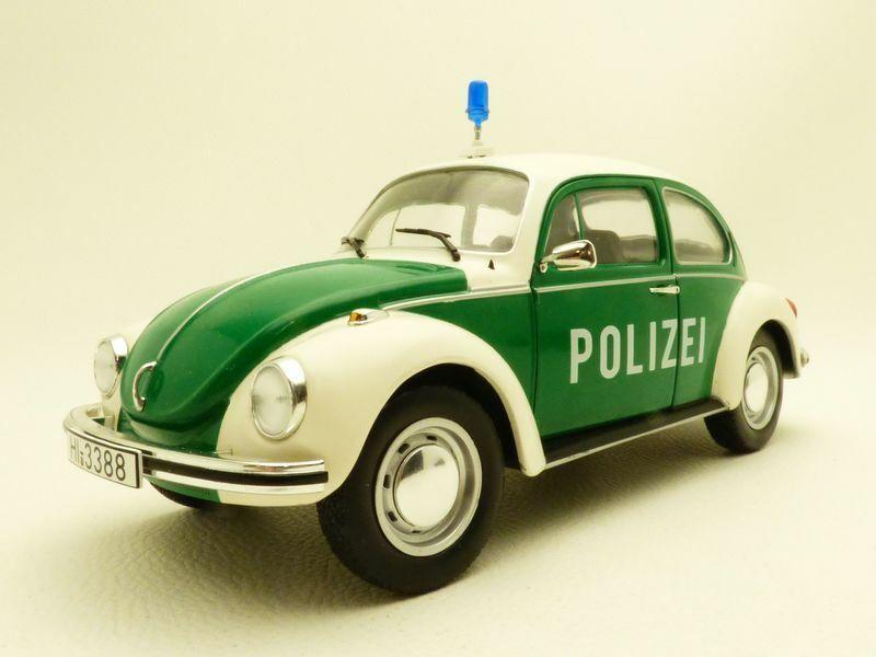 VOLKSWAGEN COCCINELLE 1303 POLIZEI 1 18 beetle police