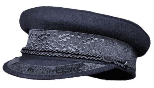 Balke Principe-Heinrich-BERRETTO-CAPPELLO capitano-ombrello con nastro ornamentali e cordino