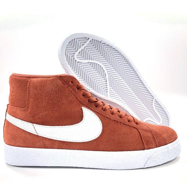Nike SB Zoom Blazer Mid Dusty Peach Red White 864349 201 Men's 11.5