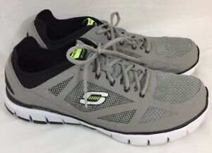 211b6f3ad125 Skechers Relaxed Fit  51444 Skech Flex Life Force Sport Shoe Gray ...