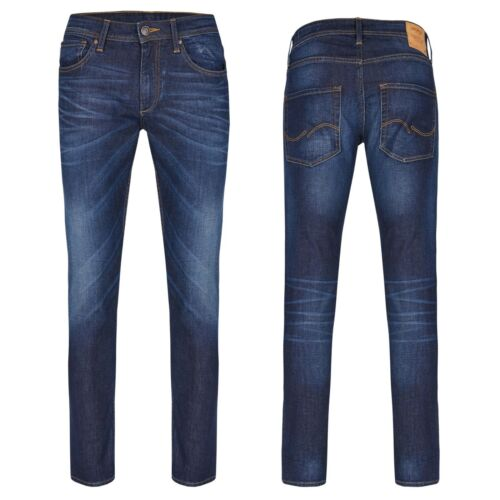 Fit Denim Jones Taille Glenn Jeans Blue 27 34 Unisexe Slim Jack xqftYTHH