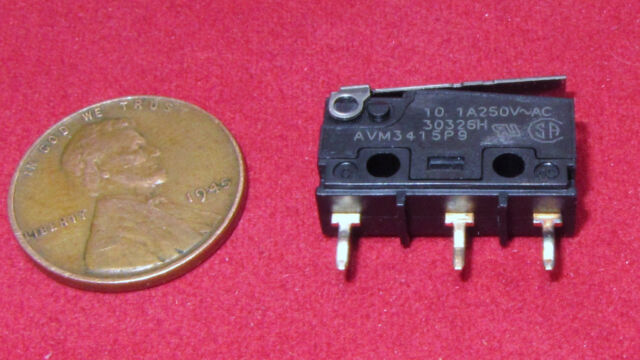 Panasonic AM1501F SPDT Hinge Lever Microswitch 10 A@ 250Vac
