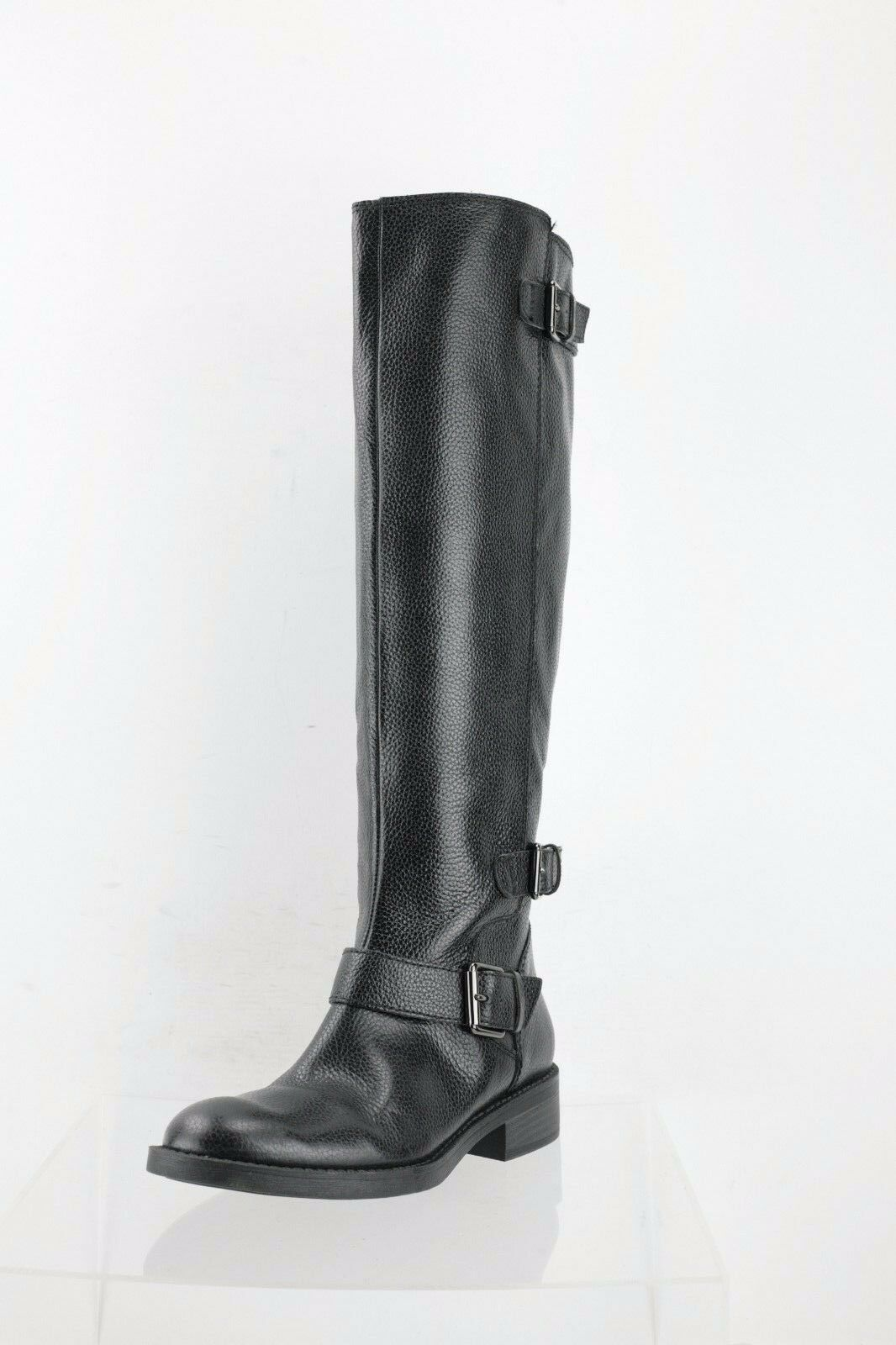 Enzo Enzo Enzo Angiolini Sayin Black Leather Knee High Boots Women's shoes Size 6.5 M NEW 7c047c