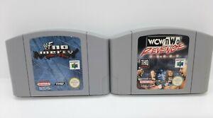 WWF No Mercy & Wcw/NWO venganza Nintendo 64 Juegos Genuino N64 JUEGOS-PAL - #2