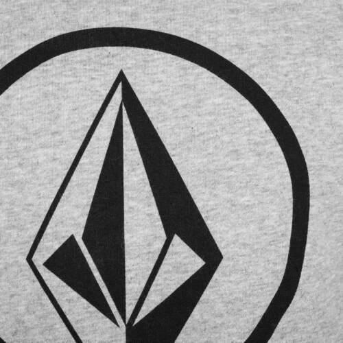 Volcom Circle Stone Logo Pull Storm-Grey-Volcom Crew Neck Pull
