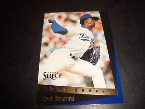 Pedro Martinez 1993 Score Select 127 La Dodgers Nm M Rookie