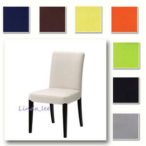 Image Is Loading Custom Made Cover Fits IKEA Henriksdal Chair Replace