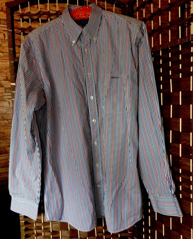 Gant Study Poplin Regular Fit Hemd gestreift Gr L  | Nicht so teuer