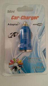 USB-KFZ-Adapter-12V-24V-Zigarettenanzuender-mini-Auto-Ladegeraet-Universal-Leitz