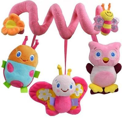 Baby Bed Around/baby stroller Hanging Bell/ Rattle Mobile Musical Plush Toy NEW