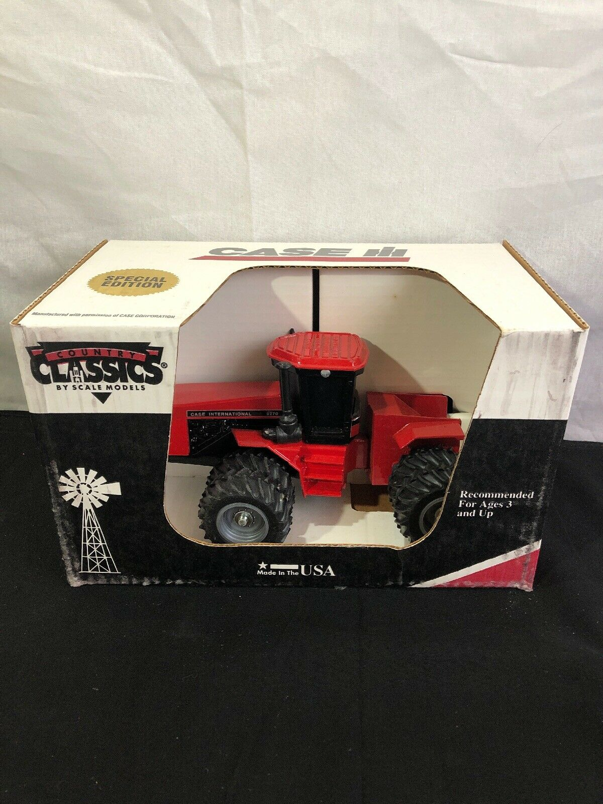 New In Box SPECIAL EDITION CASE INTERNATIONAL 9720 4 WHEEL DRIVE TRACTOR, IH
